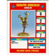 Blood Bowl Scrappa Sorehead Goblin Star Player Reference Card